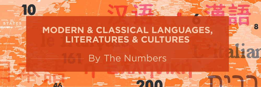 mcllc by the numbers modern amp classical languages